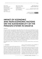 prikaz prve stranice dokumenta IMPACT OF ECONOMIC AND NON-ECONOMIC FACTORS ON THE SUSTAINABILITY OF THE PENSION SYSTEM IN CROATIA