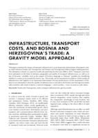 prikaz prve stranice dokumenta INFRASTRUCTURE, TRANSPORT COSTS, AND BOSNIA AND HERZEGOVINA'S TRADE: A GRAVITY MODEL APPROACH