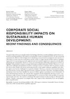 prikaz prve stranice dokumenta CORPORATE SOCIAL RESPONSIBILITY IMPACTS ON SUSTAINABLE HUMAN DEVELOPMENT