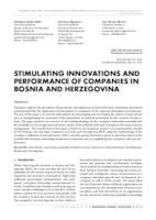 prikaz prve stranice dokumenta STIMULATING INNOVATIONS AND PERFORMANCE OF COMPANIES IN BOSNIA AND HERZEGOVINA