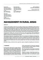 MANAGEMENT IN RURAL AREAS