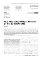 Poveznica na dokument R&D AND INNOVATION ACTIVITY OF THE EU CHEMICALS